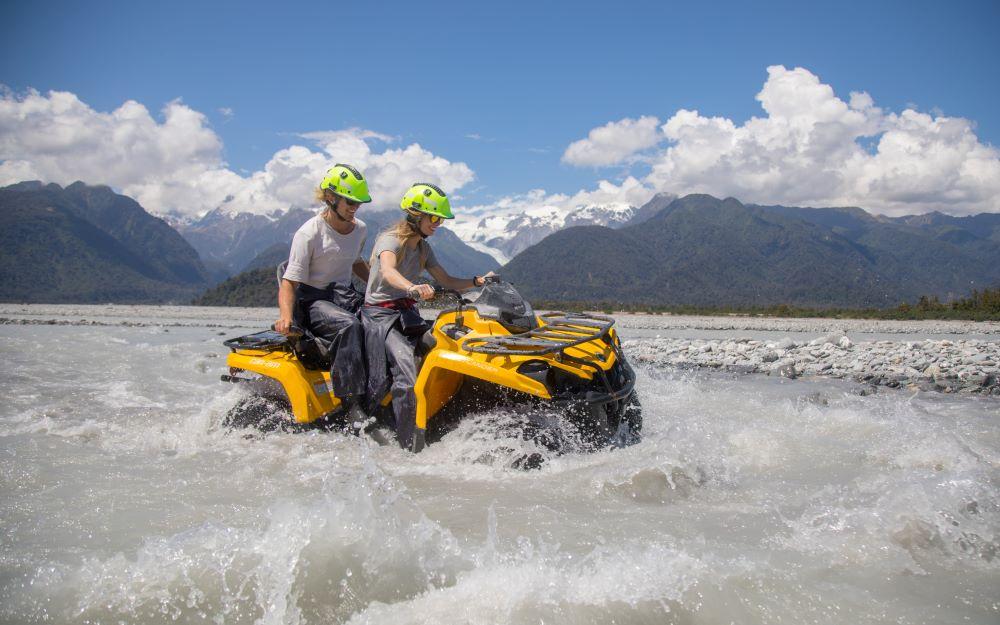 Glacier Country Lake Tour - Across Country Quad Bikes