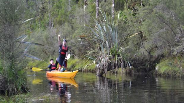 Having fun in Kiwi Sanctuary!