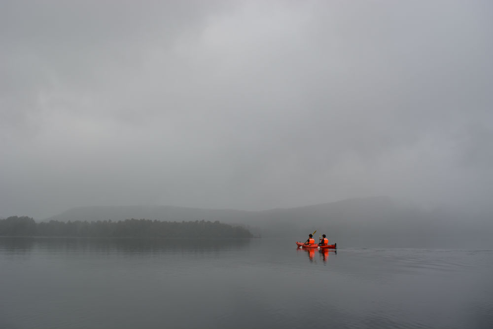 Moody lake - Franz Josef Tours