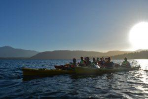 Sunset paddle franz josef
