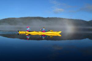 Kayaking Mirror Reflection