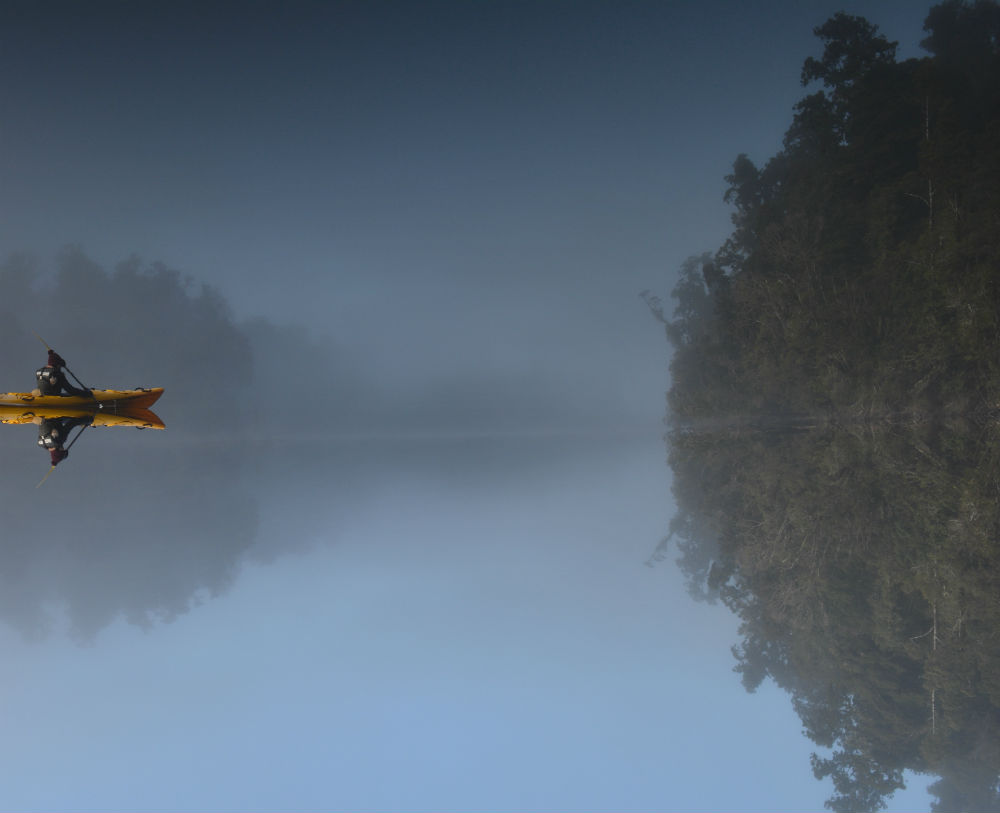 Mirror Lake Mapourika Franz Josef Tours