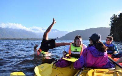 Lake Mapourika's Warm Water!