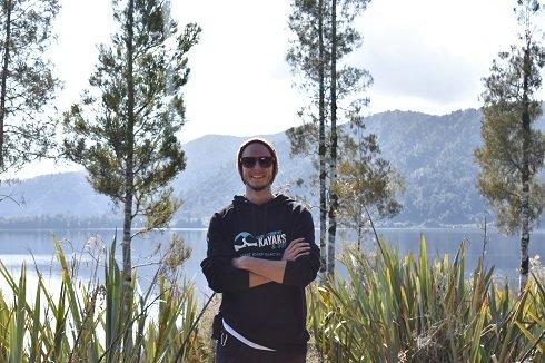 Meet our skipper, Dingy – Franz Josef Tours
