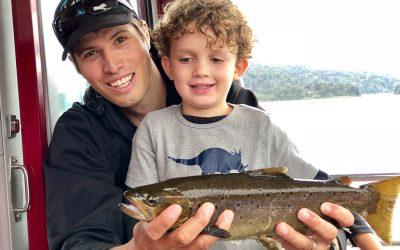 Franz Josef – Salmon & Trout Fishing on Lake Mapourika