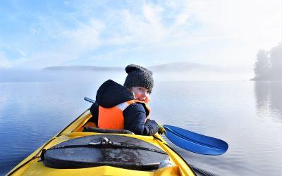 Take the kids kayaking on Lake Mapourika – it's easy!