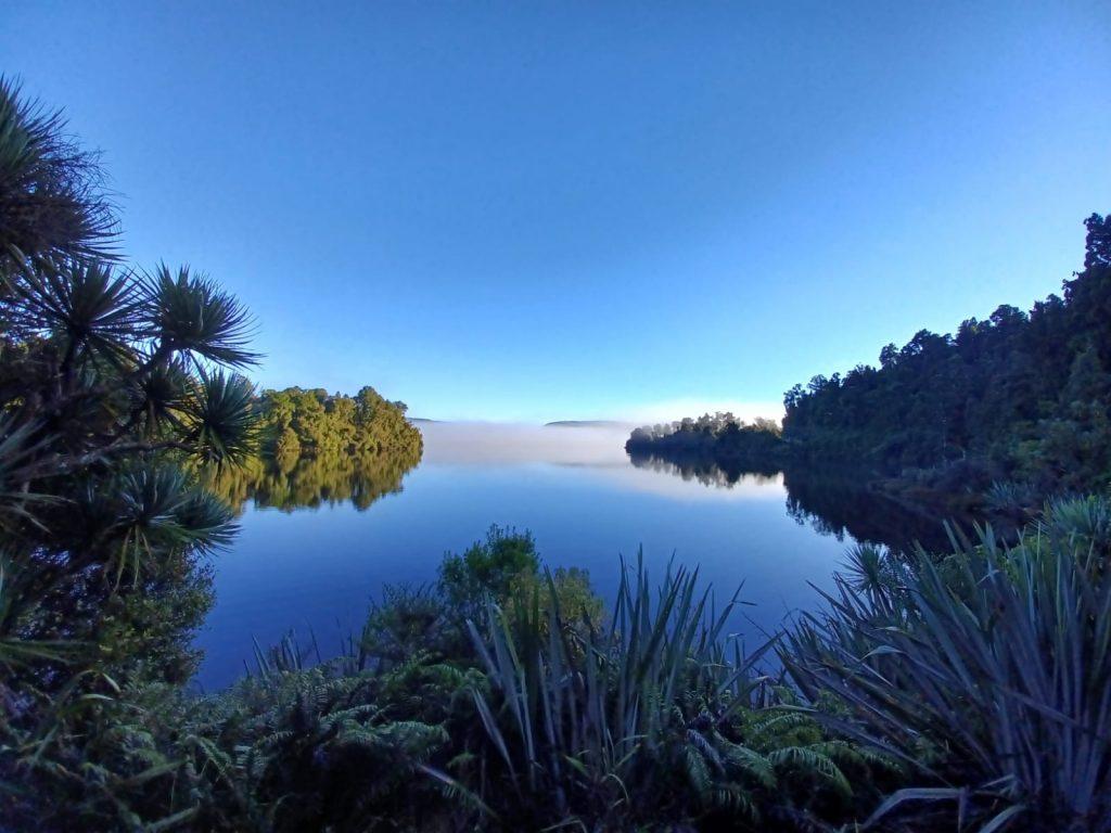 Jetty Bay at Lake Mapourika